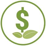 Green economy icon