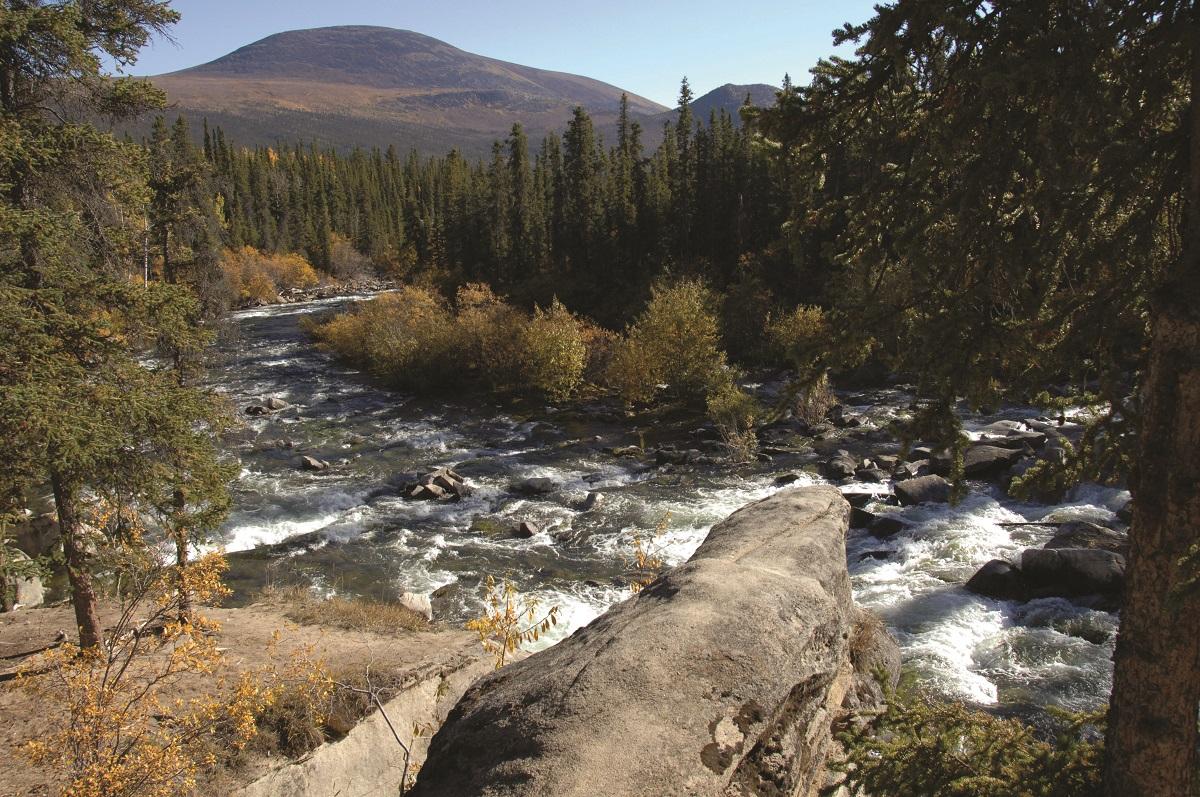 Otter Falls, Yukon