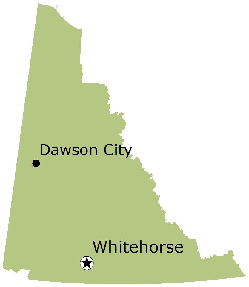 Round Whitefish distribution map.