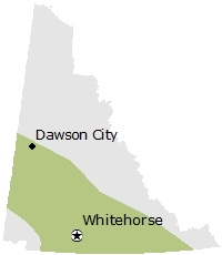 Cougar distribution map.