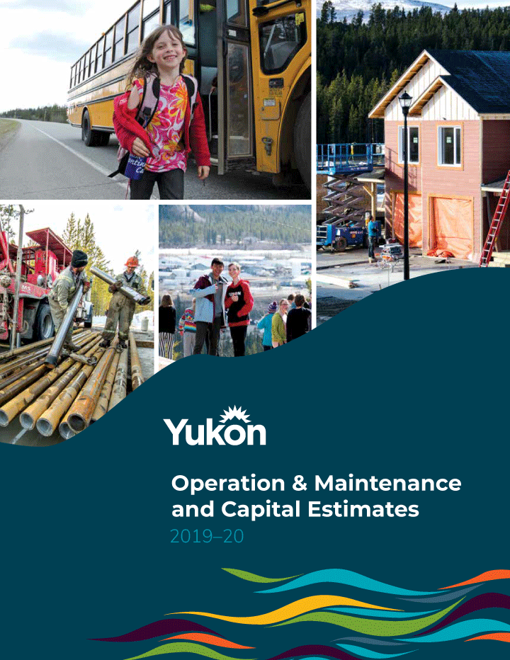 Cover image of The Government of Yukon's 2019–20 Budget