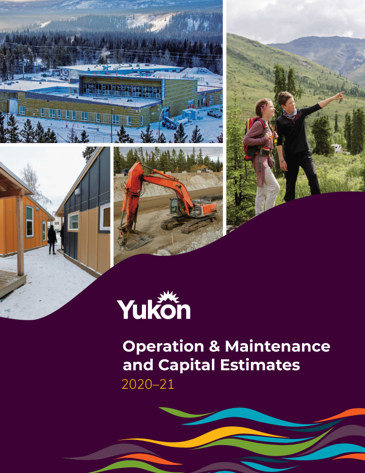 Cover image of The Government of Yukon's 2020–21 Budget
