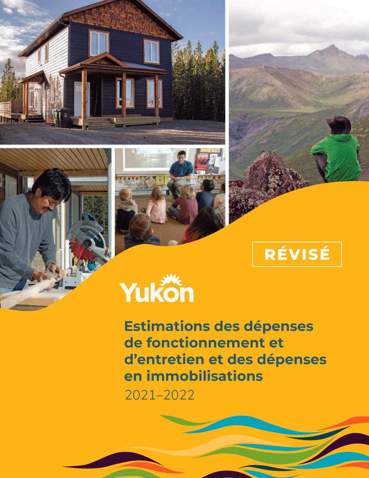 Estimations des dépenses de fonctionnement et d'entretien et des dépenses en immobilisations 2021-2022 (Révisé)