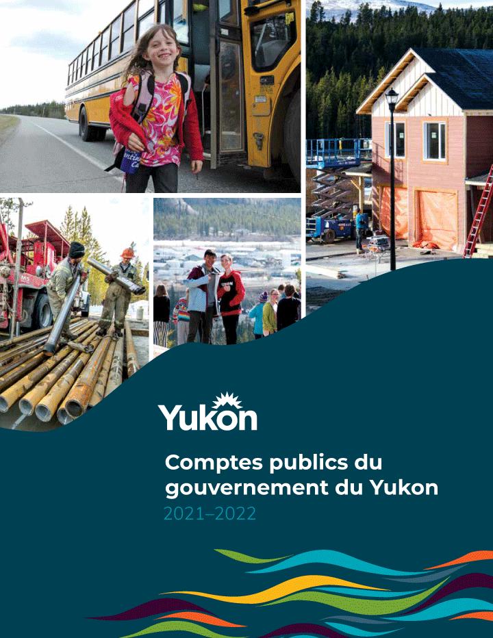 Comptes pubics du gouvernment du Yukon 2019-2020