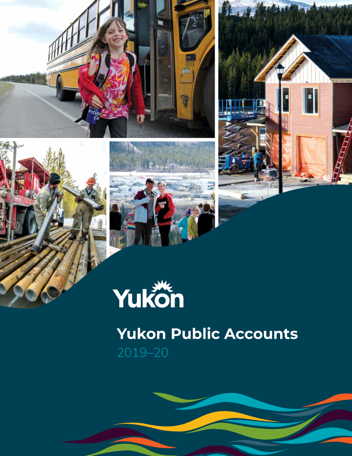 Cover image of The Government of Yukon's 2019–20 Public Accounts