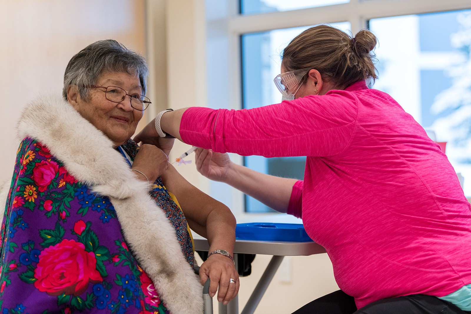 First Yukoners receive COVID-19 vaccine