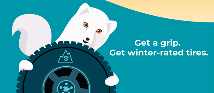 Get a grip. Get winter-rated tires.