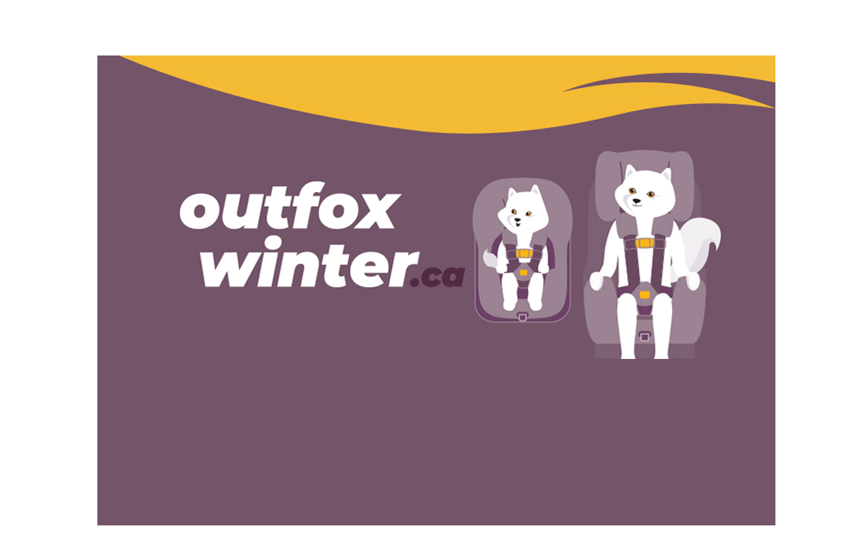Out Fox Winter Logo