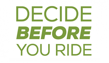 Decide before you ride