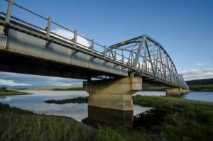 Pont de la baie Nisutlin