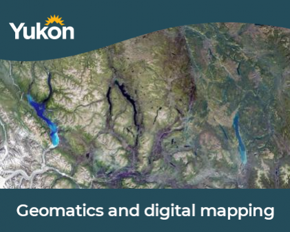 Geomatics and mapping blog image of a map