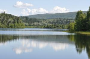 Five Mile Lake, Yukon.
