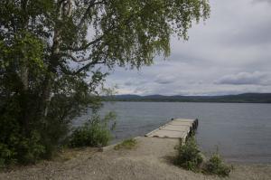 Quai du terrain de camping Watson Lake