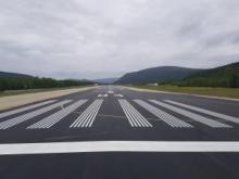 Fin des travaux d'asphaltage à l'aéroport de Dawson