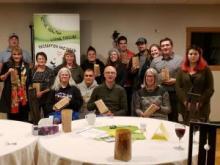 Participants au rassemblement des organisateurs de loisirs de 2019. Photo : Caroline Sparks.