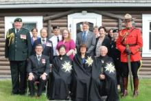 Angélique Bernard, Commissioner of Yukon, was invested as a Grande Dame of the Most Venerable Order of the Hospital of St. John