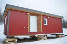 Participants build skills with tiny home construction project