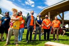 British Columbia, Yukon, Canada, the Kaska Nation, and Indigenous peoples from across the north came together to witness the ceremonial demolition of the Lower Post Residential School.