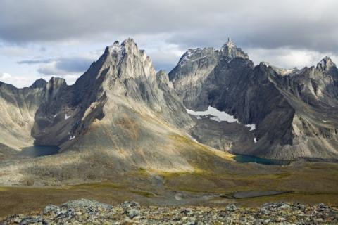 View of Mount Monolith at Tombstone Territorial Park.