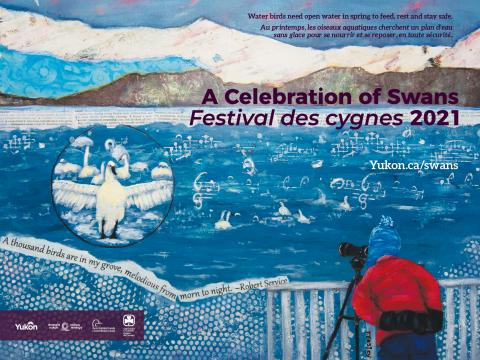 Celebration of Swans poster for 2021