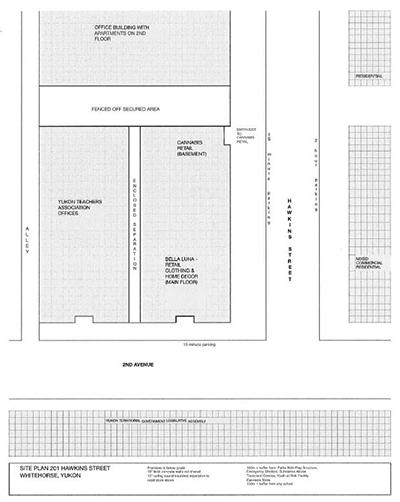 ArcticPharm site plan, item #19-09